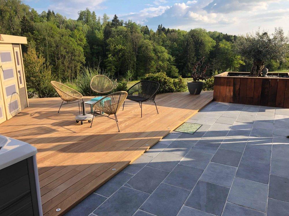 Création  d'un jardin complet par l'entreprise Eco Services