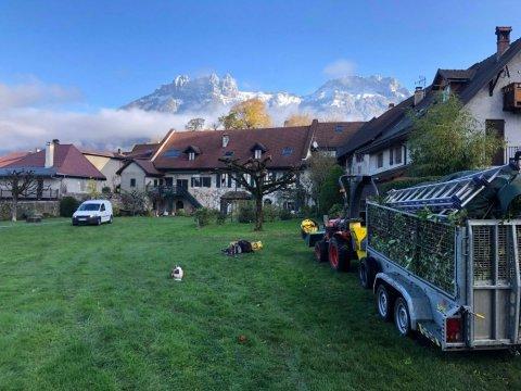 Entreprise d'entretien de parc ou de jardin à Annecy  - Eco Services