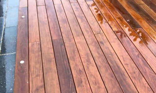 Terrasse bois en IPE Seynod