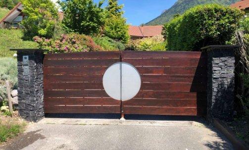 Aménagement d'un portail  Menthon saint Bernard