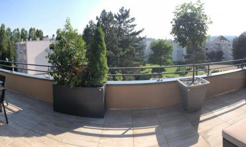 Aménagement de balcon  sur mesure à Meythet