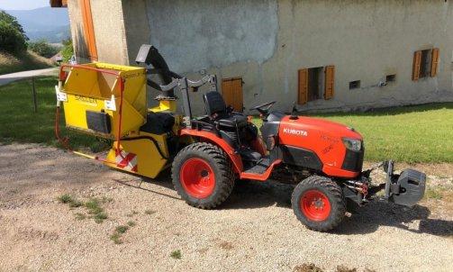 Broyeur + Tracteur  / Broyage de branches / Broyage Multi végétaux