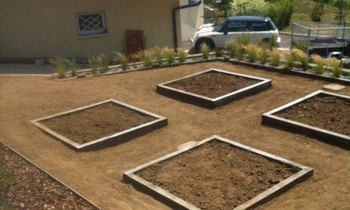 Création d'un jardin  sur Ferriere