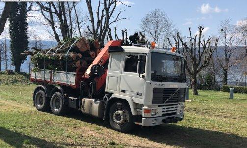 Transport de Grumes à Annecy